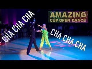 Amazing Cup 2018   Stefano Di Filippo & Dasha Chesnokova   WDC   Taipei   Cha Cha