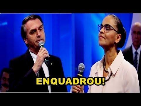 Bolsonaro Humilha Marina sobre Aborto e Drogas na RedeTV