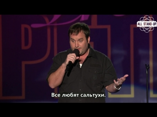 Tom Segura: I can get out of this if I just dont make eye contact [AllStandUp | Субтитры]