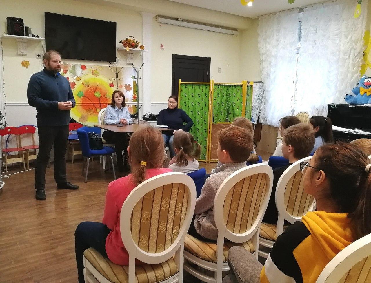Правовой урок дали школьникам из Савеловского