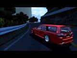 SLRR Nissan Stagea takes on Akina Hill