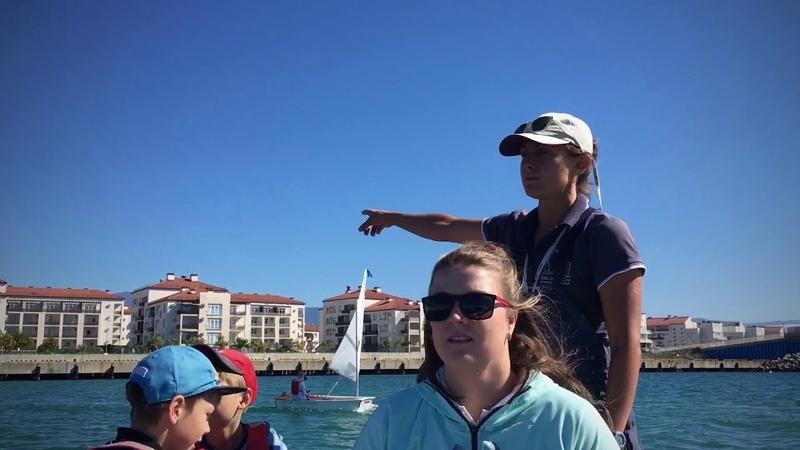 Яхтинг, День 1 - Тренировочный сбор по парусному спорту в Имеретинском - Sail in Sochi