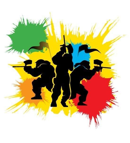 Пейнтбольная супер-битва!!! Сталкер VS Воин
