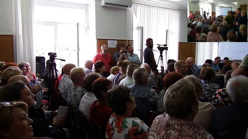 Слушания по проекту Экотехнопарк Калуга в Михалях