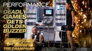 Deadly Games: Knife Throwing Danger Act Gets Golden Buzzer! - America's Got Talent: The Champions
