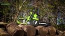 Аккумуляторная Цепная пила Greenworks 24V