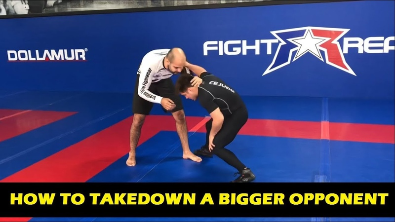 How To Takedown A Bigger Opponent by Henry Cejudo