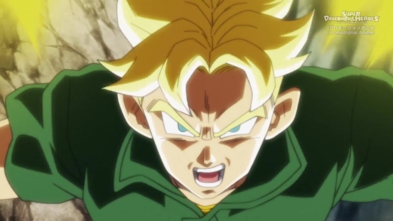 Dragon Ball Heroes 2 серия русская озвучка Shoker Драконий жемчуг Герои 02