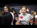 Mina Sundwall LostInSpace interviewed at 2018 Netflix FYSee Space FYC Emmys party NetflixFYSee