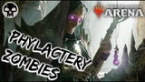 Phylactery ZOMBIES MTG Arena White-Black Zombies Deck in M19 Standard