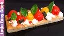 ИТАЛЬЯНСКАЯ ЗАКУСКА Лепёшка с сыром и помидорами закуски на стол Люда Изи Кук Позитивная Кухня