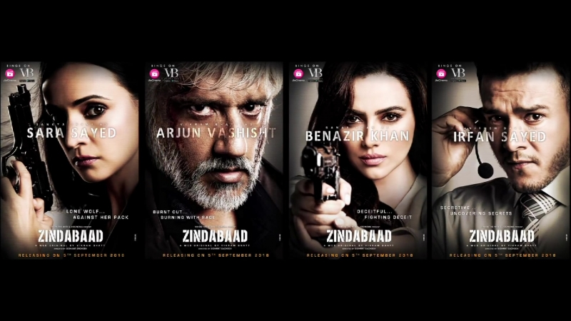 Zindabaad ¦ Poster ¦ A Web Original By Vikram Bhatt