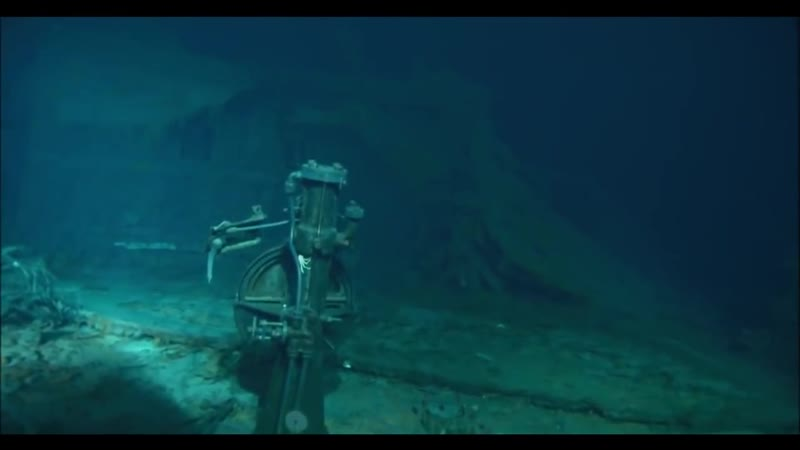 Титаник. 106 лет под водой. Редкие кадры. Ghost ship Titanic. 106 years underwater. Real footage.