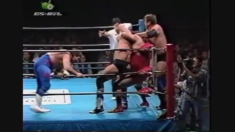 1997.10.11 - Gary Albright/The Lacrosse/Rex King vs. Stan Hansen/Johnny Smith/Bobby Duncum Jr.