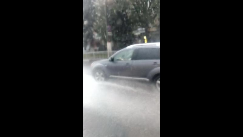 дождь в Курске