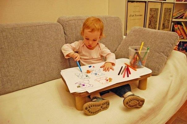 """变废为宝:""""沙发上的小桌"""" - maomao - 我随心动"""