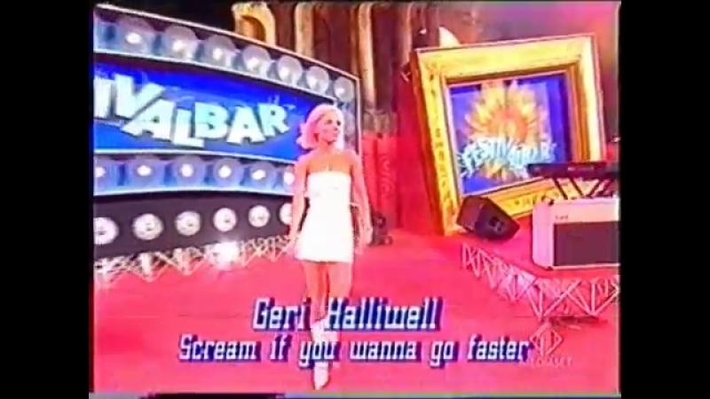 Geri Halliwell - Scream If You Wanna Go Faster @ Festivalbar a Taormina 09.07.2001