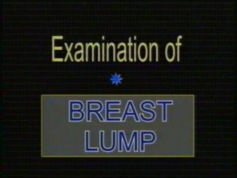 Examination of a breast lump