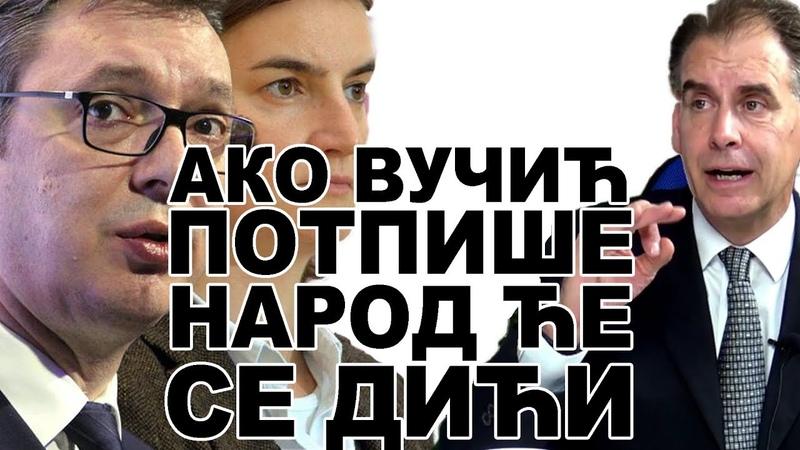 Ako Vučić potpiše izdaju Kosova narod će da se digne ! - RasPravda - John Bosnic