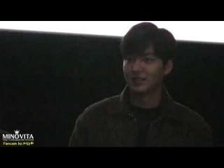 [직캠] 20150117 이민호 강남1970 대구 CGV 아카데미 무대인사