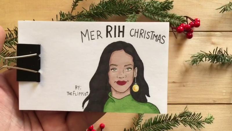 MTV Holiday Pun Flipbook Compilation