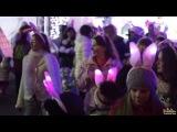 Новогодний танцевальный флешмоб зайчиков ( Я там есть, но меня почти не видно хд )