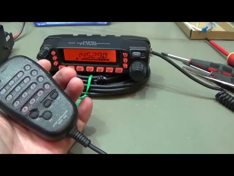136 Yaesu FT-7800 very noisy on transmit. Lets fix it