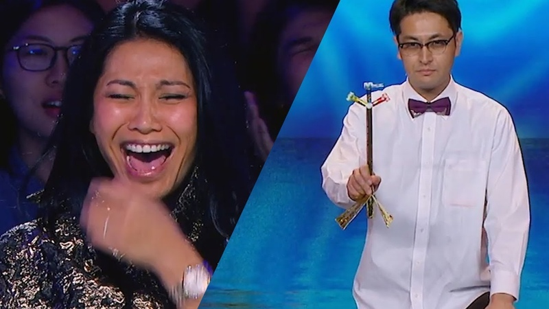 JUDGES Can't Stop Laughing At Ichikawa From Japan AXN Asia's Got Talent 2019
