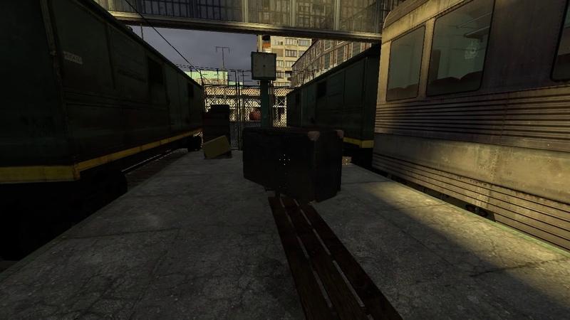 Самая неудачная попытка залесь за пределы карты в Half-Life 2!