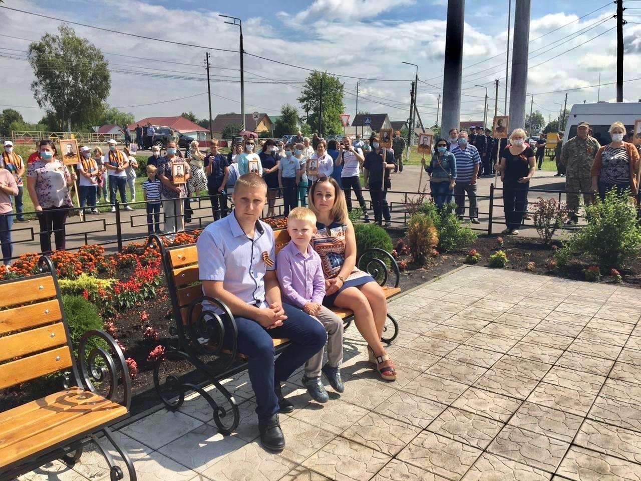 30 июля в Мичуринском районе Тамбовской области прошла церемония захоронения ост...
