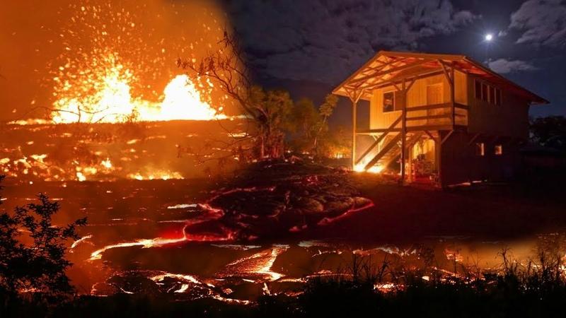 НОВЫЕ КАДРЫ ГАВАЙИ ИЗВЕРЖЕНИЕ ВУЛКАНА Килауэа на Гавайях 2018 глазами очевидцев