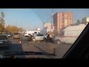 ДТП на ул. Львовской Нижнего Новгорода. 18.10.18