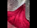 Sexy Wine Red Wedding Dresses Formal Party Gown