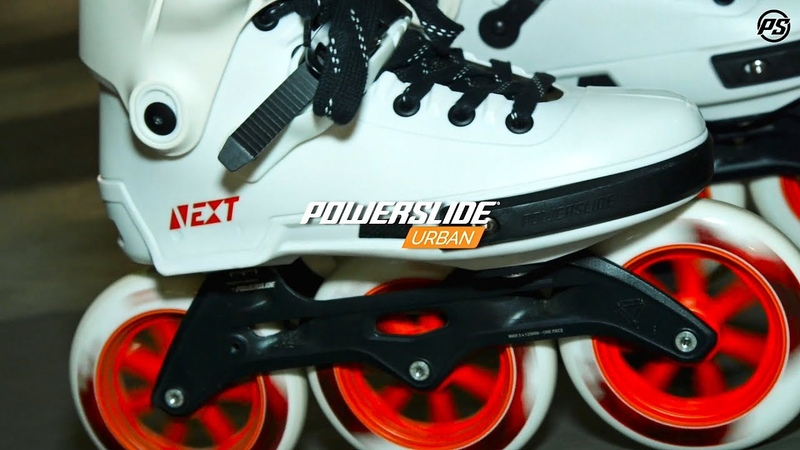 Powerslide Next 125 Inline skates - Megacruising Barcelona with Sam Crofts