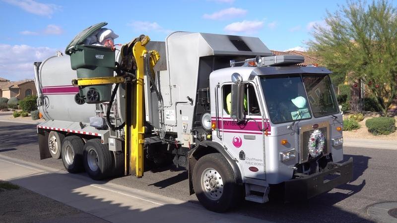 City of Phoenix PW ⇨ Refurbished Amrep HX450 N3 ASL Garbage Truck