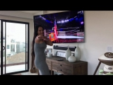 Bellas Battleground viewing party is a BLAST! Nikki gets down and boogies while