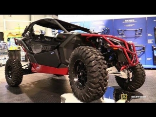 Can Am Maverick X3 Turbo R X RS 2017 Accessorized by Rival Powersports - Walkaround - 2017 SEMA