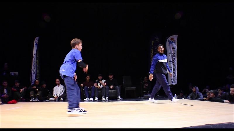 Grom VS Mini Joe | Quarter-Final | One-One Battle International 2018