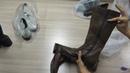 Обувь Италия сток кожа 20 шт лот 12