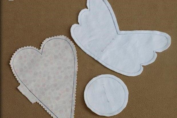 день влюбленных традиции, мягкое сердце своими руками, сердце выкройка