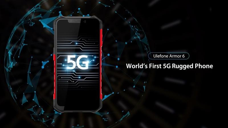 Worlds First 5G Rugged Phone - Ulefone Armor 6