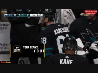 NHL   Sabers vs Sharks