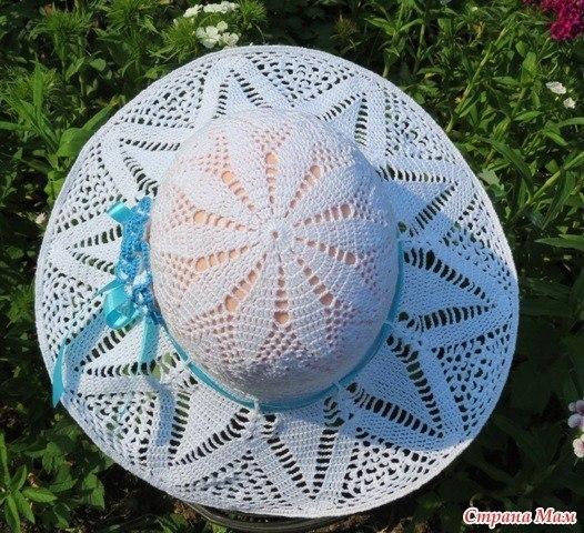 钩针夏季遮阳帽 - maomao - 我随心动