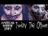 American Horror Story - Twisty The Clown || halloween makeup tutorial