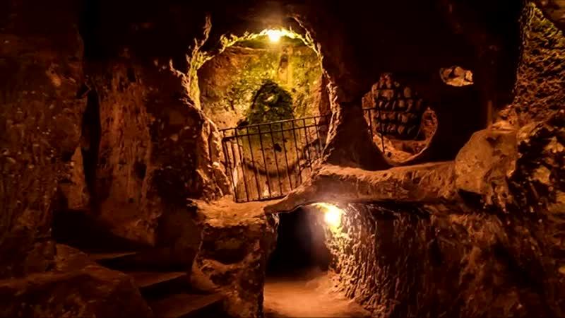 3 Поражающих Воображение Подземных Городов, которые Можно Увидеть в разных уголках мира