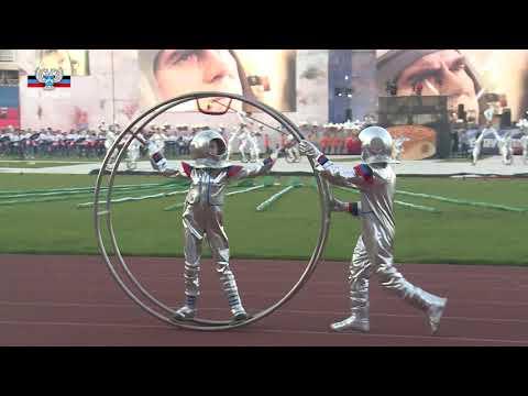 На арене РСК Олимпийский проходит праздничная концертная программа посвященная Дню Республики
