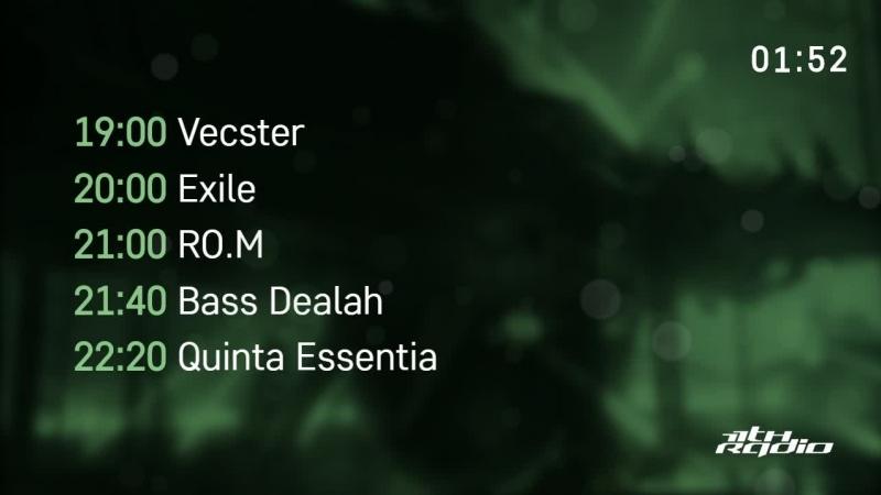 Vecster and Exile / RO.M, Bass Dealah, Quinta Essentia - Live @ Nuke Lab / Rampa Thrash (12.10.2018)