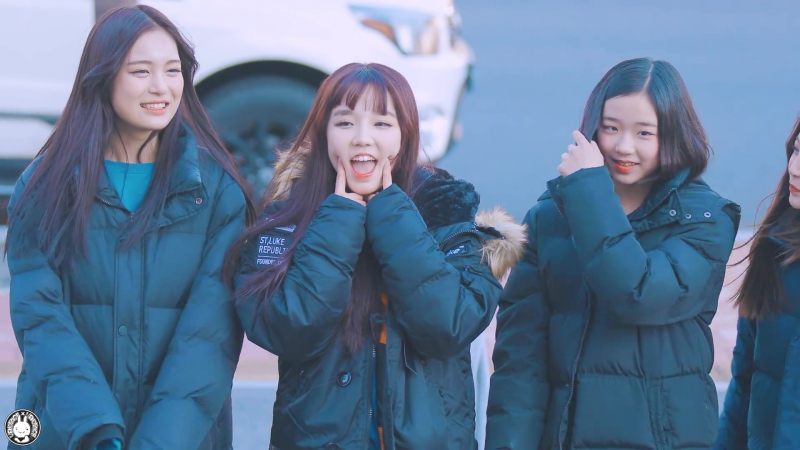 171209 버스터즈(Busters) - МинДжи @ мини-фанмитинг возле здания MBC
