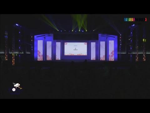 พิธีปิดการแข่งขัน WRO2018 Thailand ณ CMECC (เชียงใหม่) 18 พ.ย. 2561