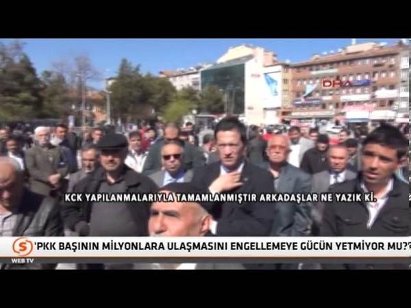 Kırıkkalede Şehit aileleri Tayyip Erdoğana ağır konuştu